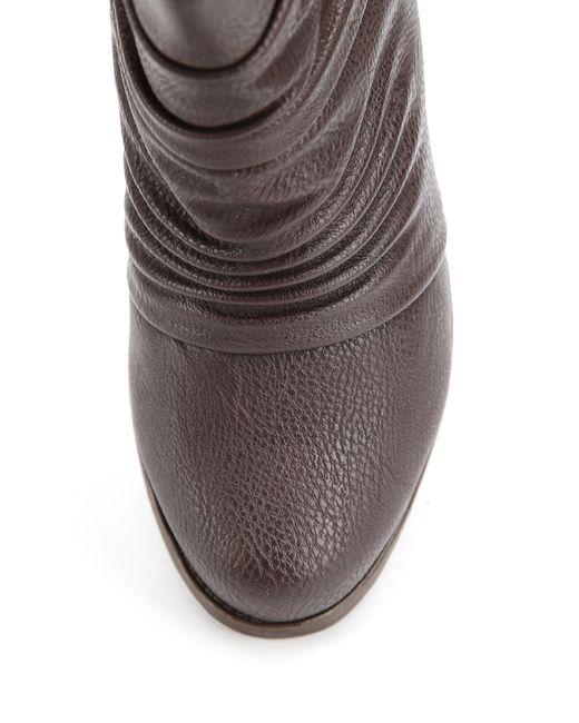 Ботильоны Avery                                                                                                              коричневый цвет