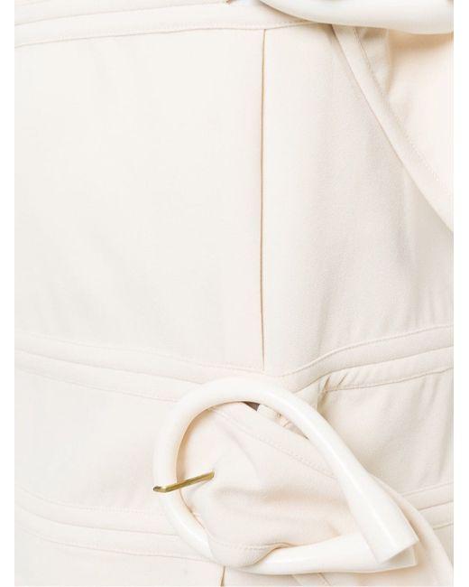 Мини-Юбка С Пряжками J.W. Anderson                                                                                                              белый цвет