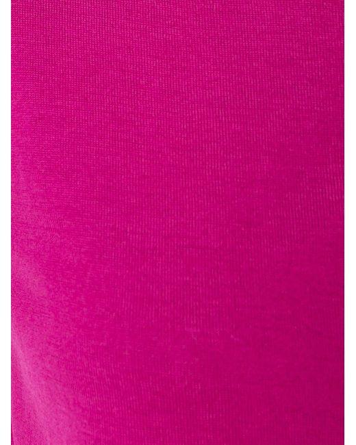 Футболка С Круглым Вырезом Etro                                                                                                              розовый цвет