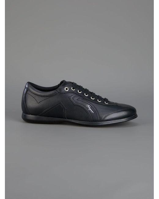 Classic Sneaker Salvatore Ferragamo                                                                                                              чёрный цвет