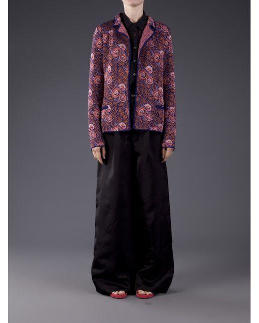Pattern Coat Thierry Colson                                                                                                              Metallic цвет