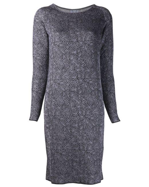 Print Dress Thierry Colson                                                                                                              серый цвет