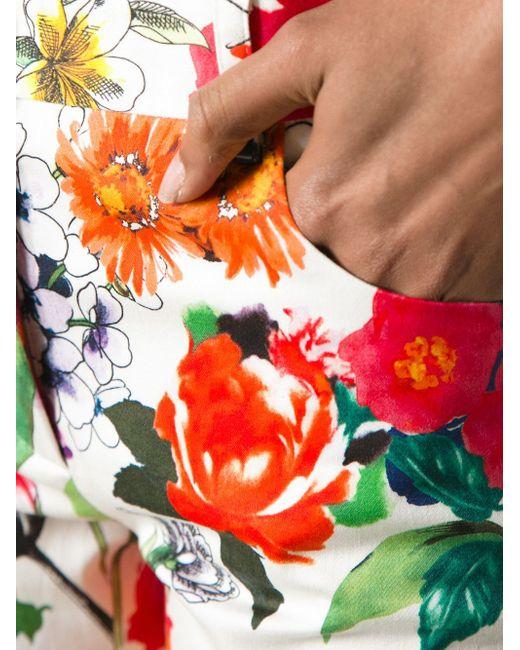 Брюки В Принт Moschino                                                                                                              многоцветный цвет