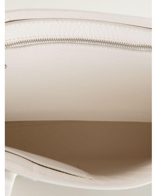 Сумка-Шоппер Rick Owens                                                                                                              белый цвет