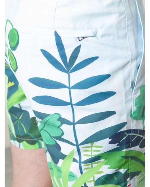 Шорты С Принтом Jungle Orlebar Brown                                                                                                              многоцветный цвет