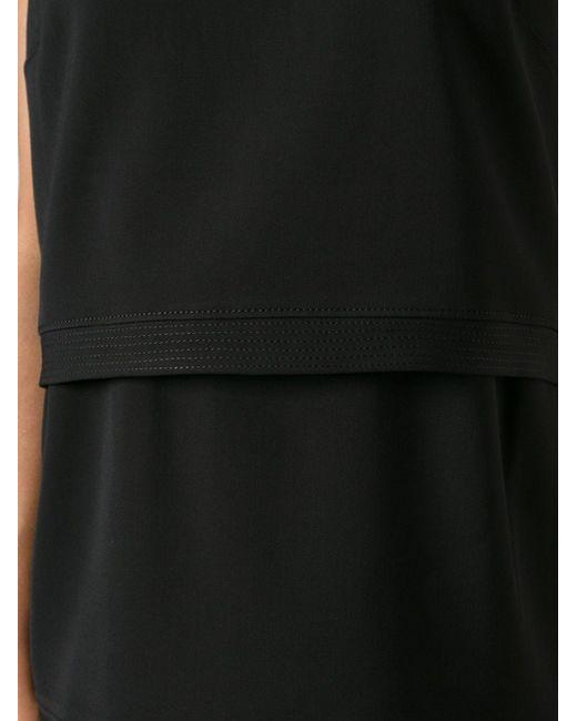 Ярусное Платье Helmut Lang                                                                                                              чёрный цвет