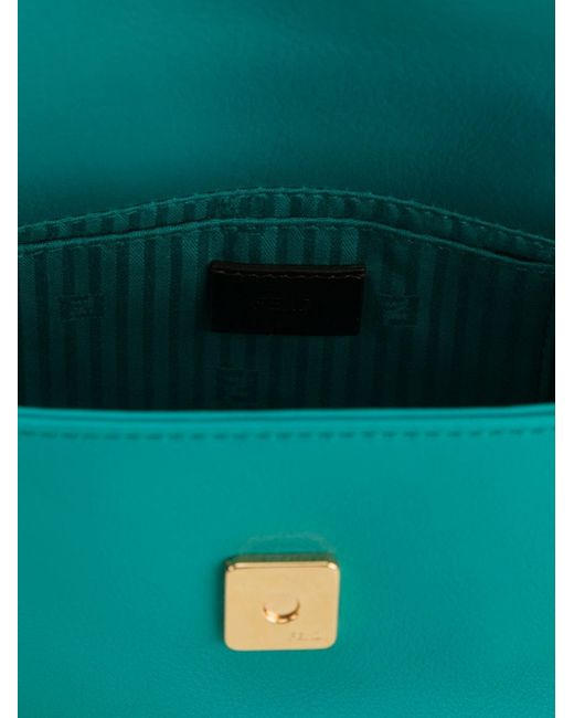 The Sta Pouch Clutch Fendi                                                                                                              зелёный цвет