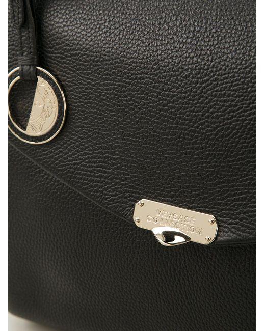 Сумка-Сэтчел Versace Collection                                                                                                              чёрный цвет