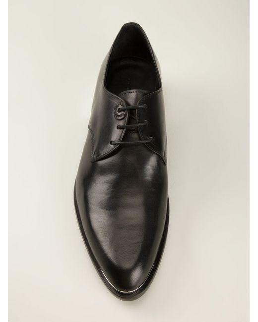 Туфли-Дерби С Металлической Окантовкой Diesel Black Gold                                                                                                              чёрный цвет
