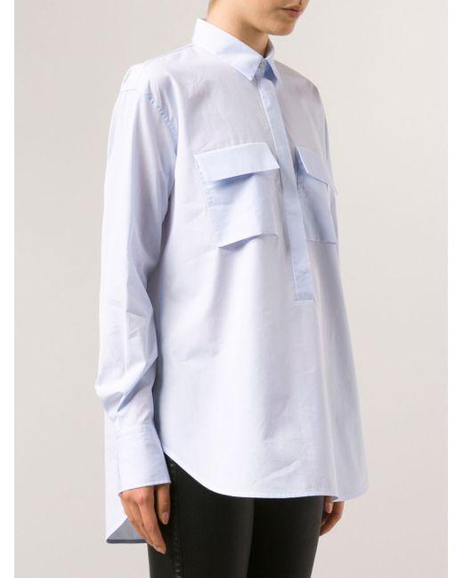 Рубашка Corazon LAREIDA                                                                                                              синий цвет
