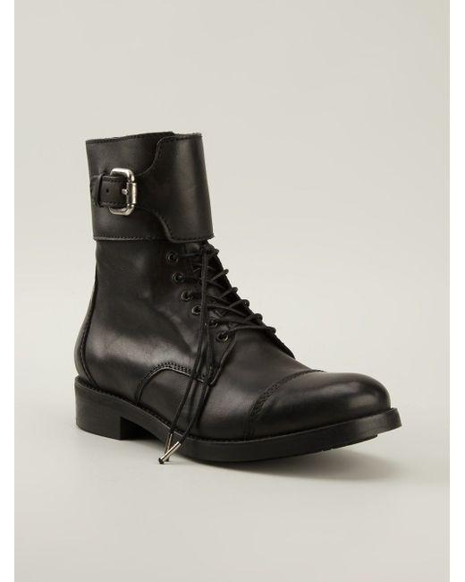 Ботинки Bartack Diesel                                                                                                              чёрный цвет