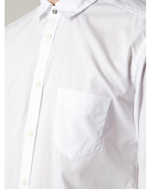 Классическая Рубашка Diesel                                                                                                              белый цвет