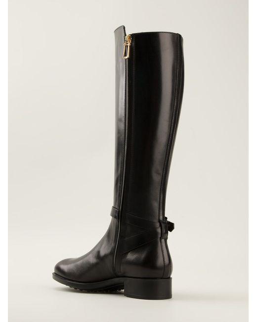Knee High Boots Tod'S                                                                                                              чёрный цвет