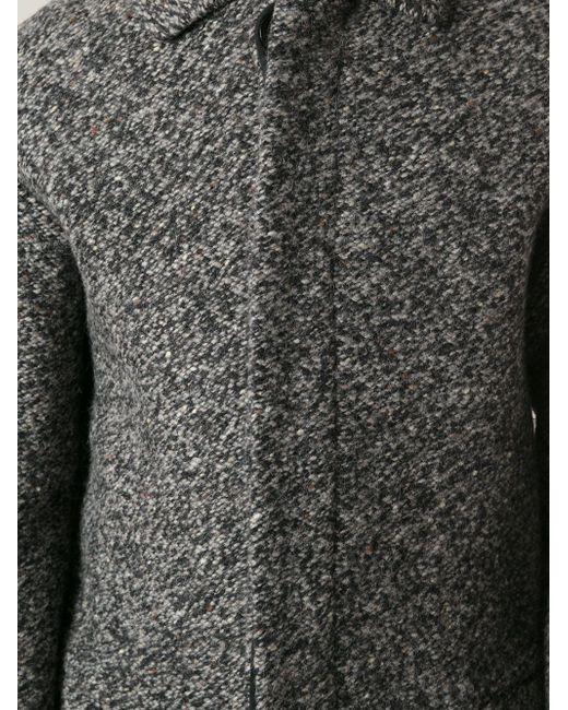 Вязаное Пальто Valentino                                                                                                              серый цвет