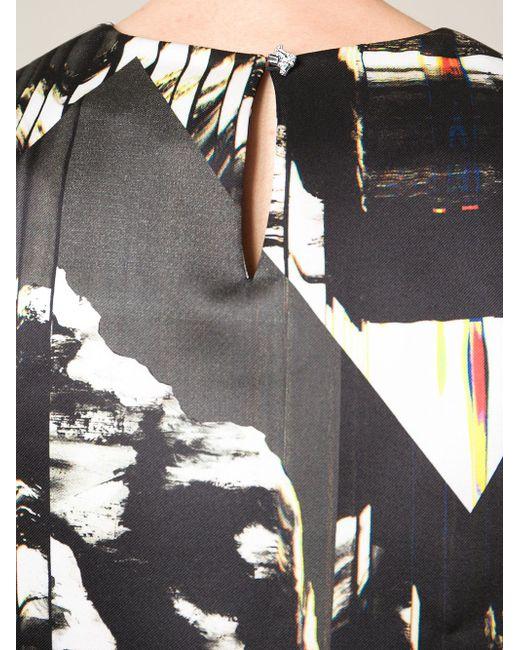 Топ В Принт Peaks Kenzo                                                                                                              чёрный цвет