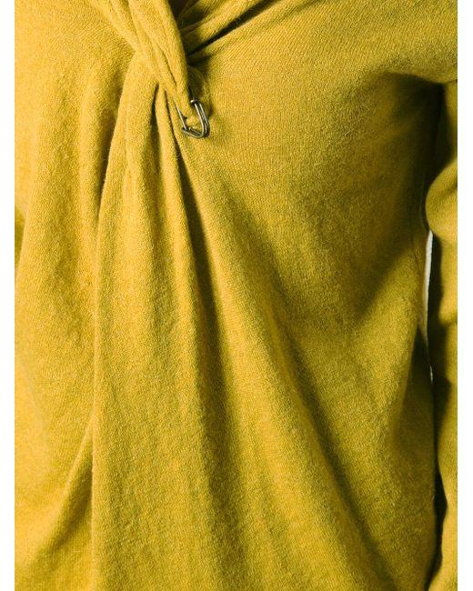 Свитер Lanvin                                                                                                              желтый цвет