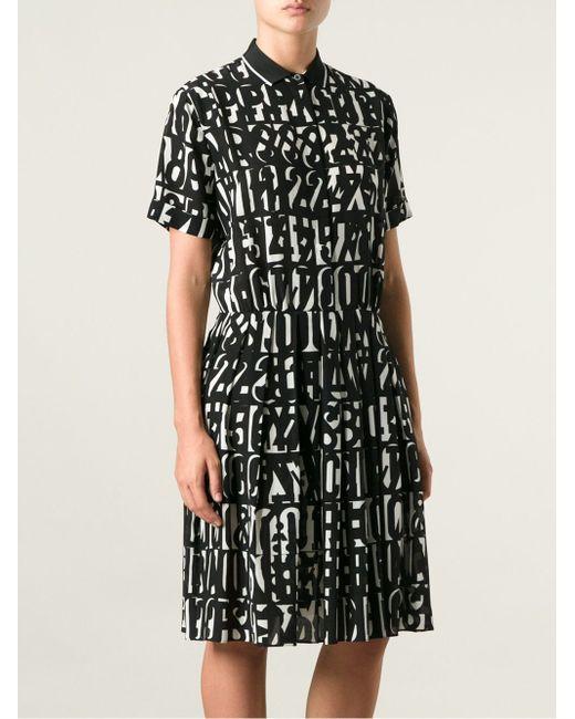 Платье С Принтом Paul Smith Black Label                                                                                                              чёрный цвет