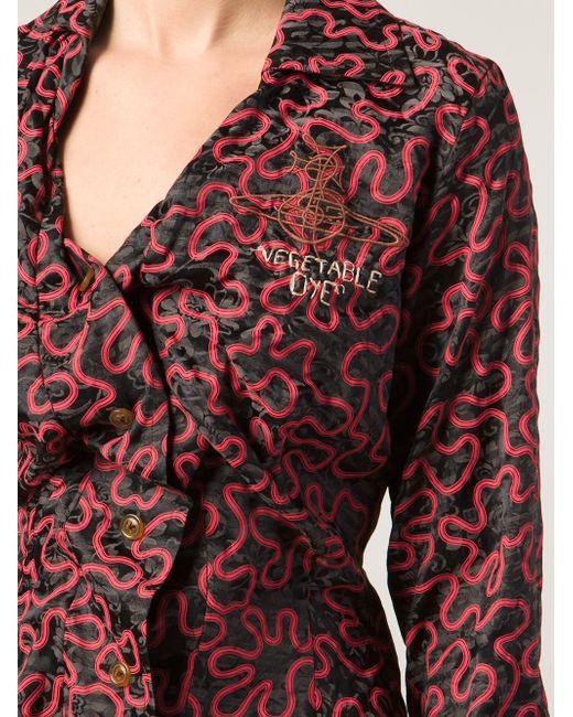 Рубашка Alcoholic Vivienne Westwood                                                                                                              красный цвет