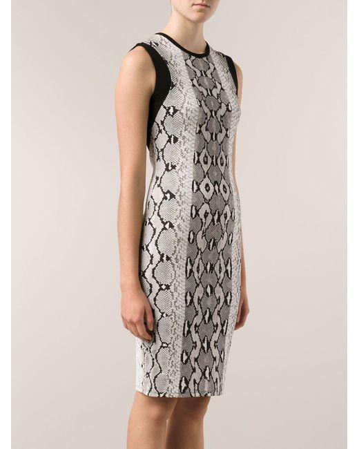Платье-Футляр Roberto Cavalli                                                                                                              чёрный цвет