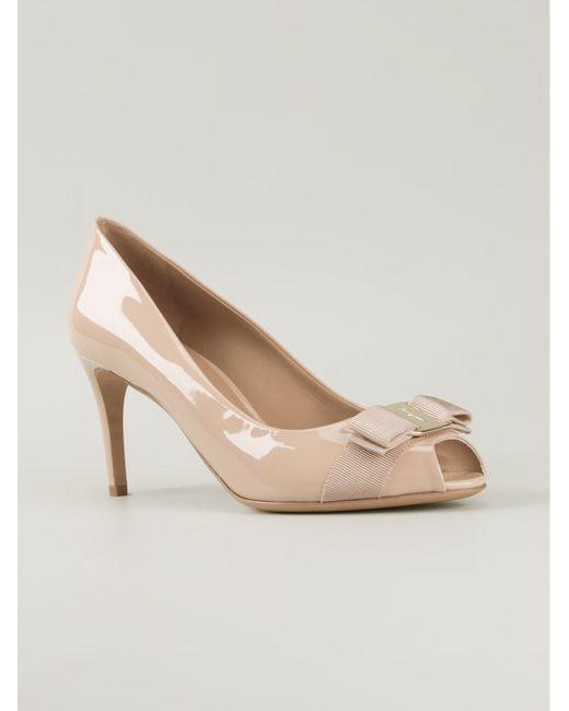 Туфли Pola Salvatore Ferragamo                                                                                                              розовый цвет