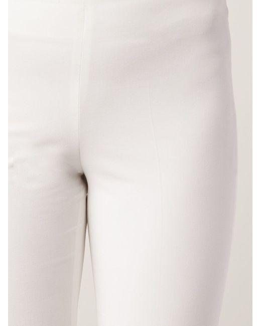 Укороченные Брюки Brunello Cucinelli                                                                                                              белый цвет
