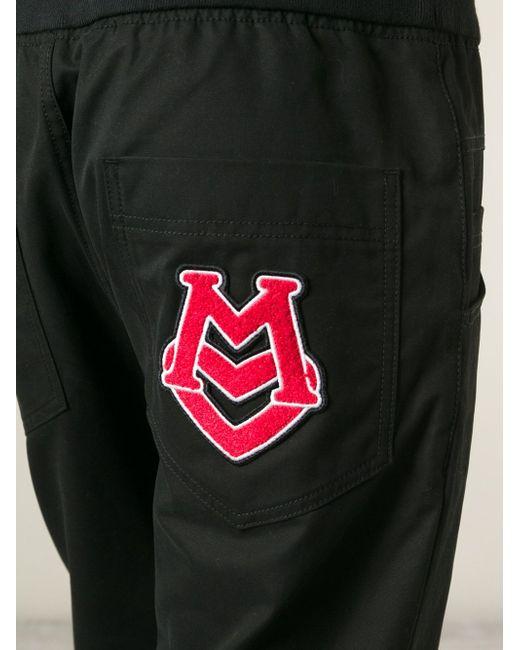 Укороченные Спортивные Брюки Love Moschino                                                                                                              чёрный цвет