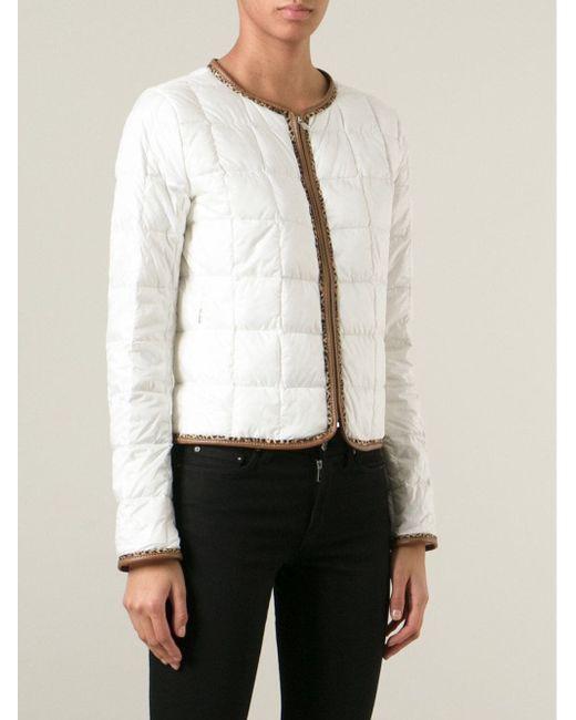 Стёганая Куртка Fay                                                                                                              белый цвет