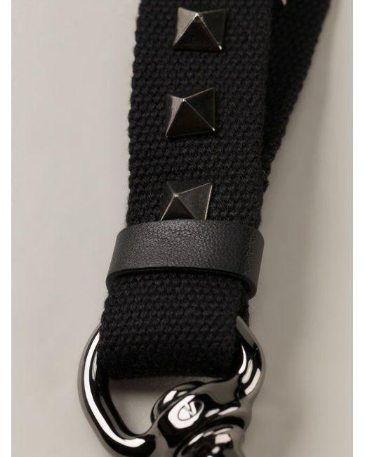 Ремешок Для Ключей Rockstud Valentino Garavani                                                                                                              чёрный цвет