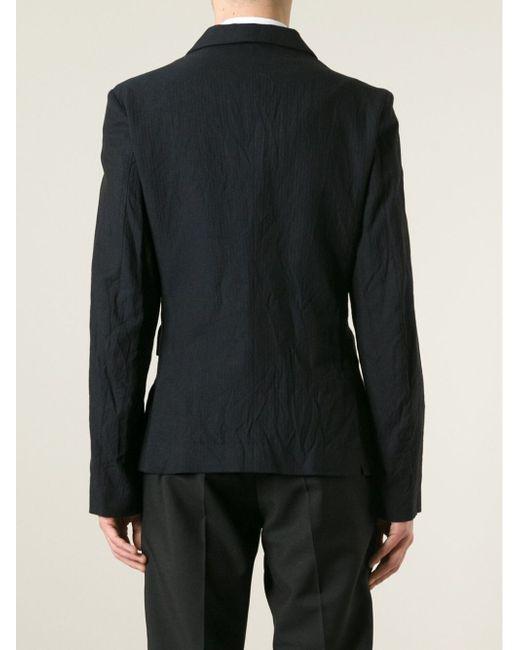 Куртка Geoff Ann Demeulemeester                                                                                                              синий цвет