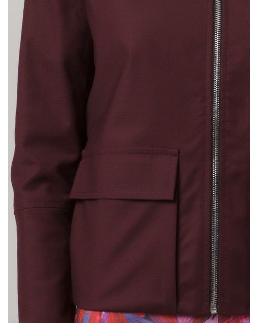 Fitted Jacket ANDREA MARQUES                                                                                                              красный цвет