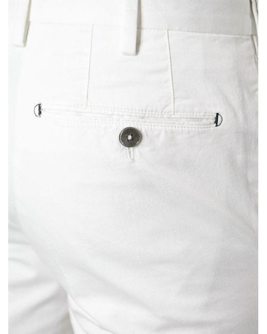 Брюки Кроя Слим Pt01                                                                                                              белый цвет