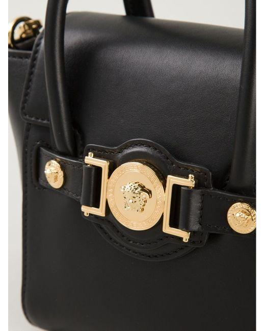 Маленькая Сумка Через Плечо Signature Versace                                                                                                              чёрный цвет