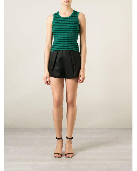 Майка В Полоску Dolce & Gabbana                                                                                                              зелёный цвет