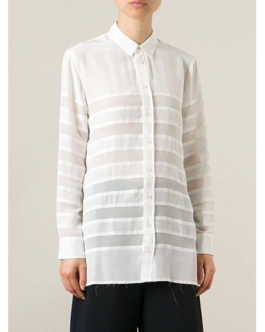 Рубашка Robert Montgomery Each X Other                                                                                                              белый цвет