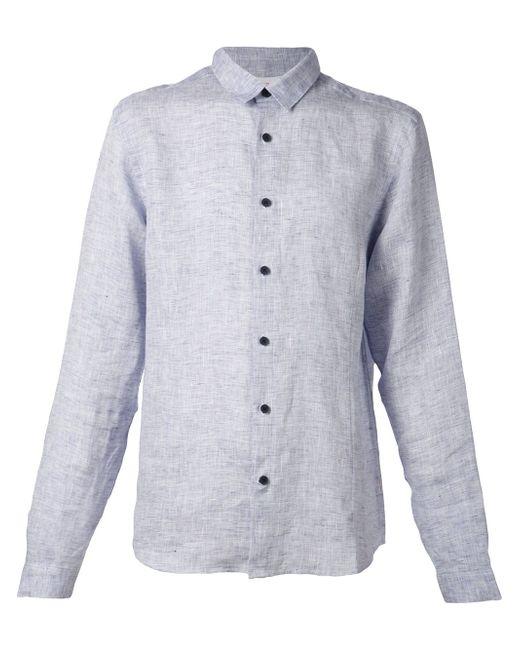 Рубашка Morton Orlebar Brown                                                                                                              синий цвет