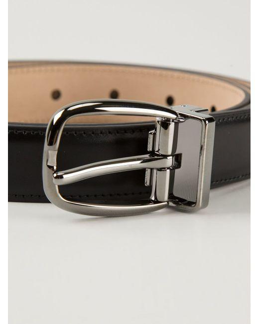 Классический Ремень Dolce & Gabbana                                                                                                              чёрный цвет