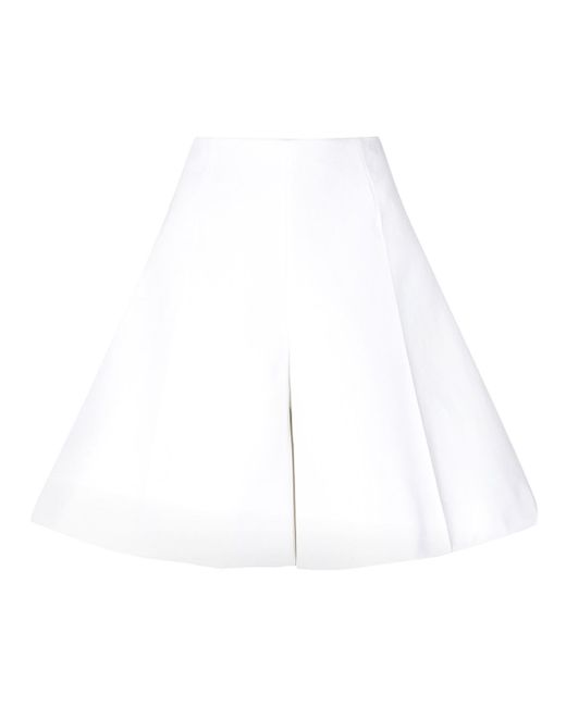 Wide Leg Shorts Delpozo                                                                                                              белый цвет