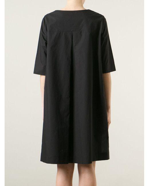 Платье Свободного Кроя Ter Et Bantine                                                                                                              чёрный цвет