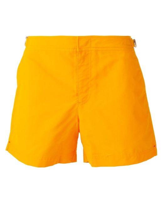 Шорты Для Плавания Setter Orlebar Brown                                                                                                              желтый цвет
