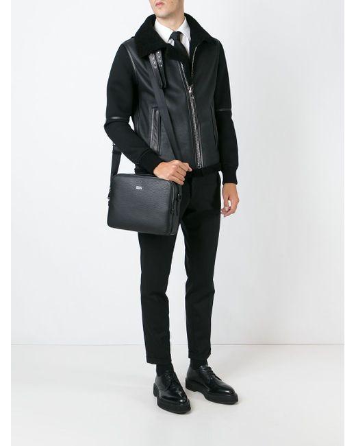 Сумка-Почтальонка Hugo                                                                                                              чёрный цвет