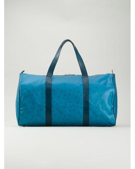 Дорожная Сумка С Принтом Lucien Pellat-Finet                                                                                                              синий цвет