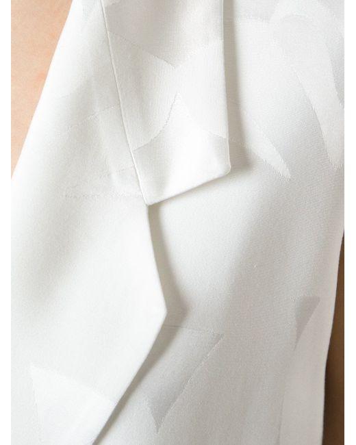 Жаккардовый Жилет С Поясом Mantu                                                                                                              белый цвет