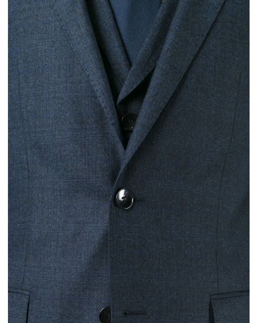 Костюм-Тройка Hugo                                                                                                              синий цвет