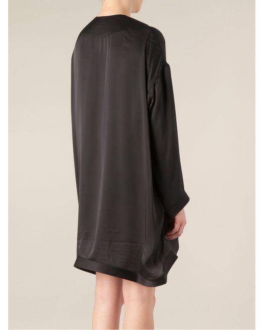 Платье-Туника Асимметричного Кроя Maison Rabih Kayrouz                                                                                                              чёрный цвет