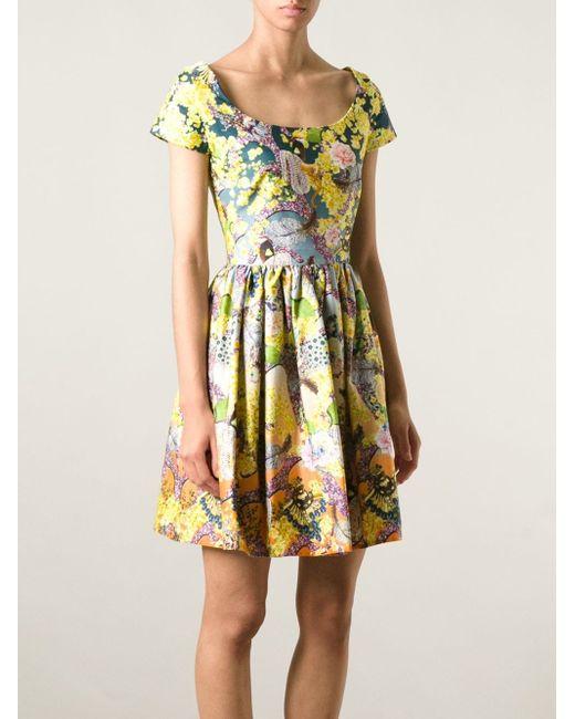 Платье Marra Mary Katrantzou                                                                                                              многоцветный цвет