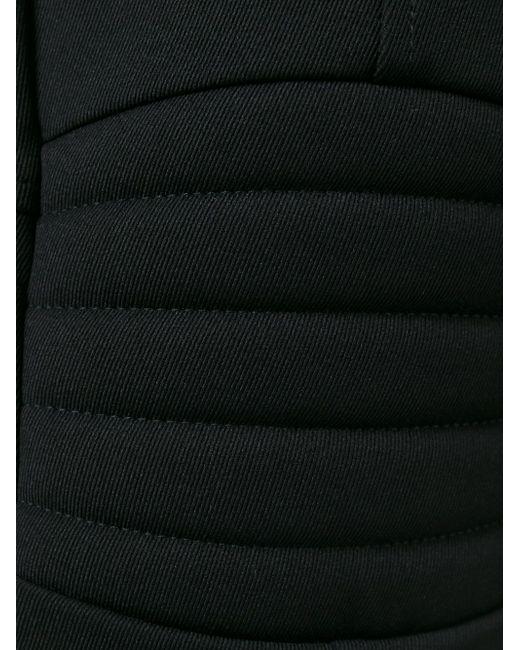 Укороченные Расклешенные Брюки Moncler Grenoble                                                                                                              чёрный цвет