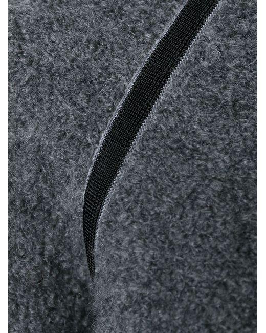 Свитер С Контрастной Окантовкой Moncler                                                                                                              серый цвет