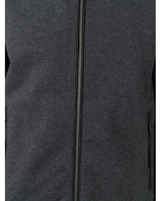 Двухтональная Толстовка Moncler                                                                                                              серый цвет