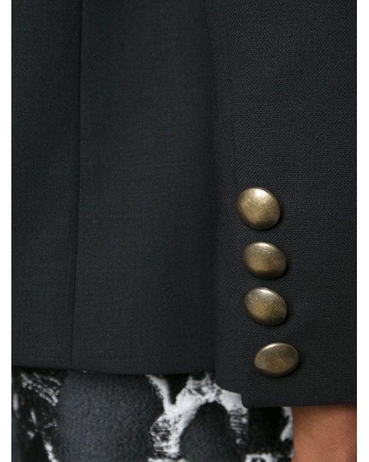 Блейзер С Открытым Передом Anthony Vaccarello                                                                                                              чёрный цвет