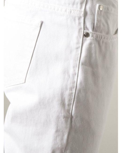 Джинсы Erik Soulland                                                                                                              белый цвет
